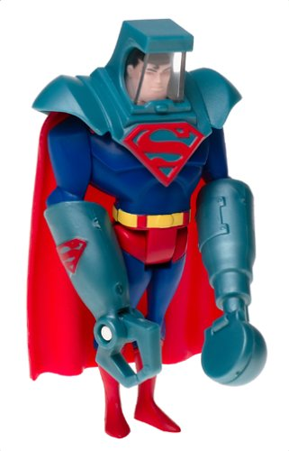 Justice League Attack Armor Superman Figure - 1
