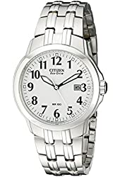Citizen Men's BM7090-51A Classic Stainless Steel Eco-Drive Watch