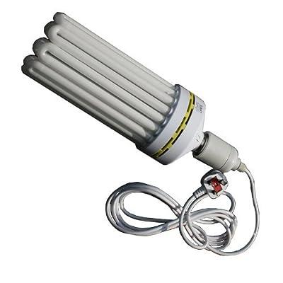 Blue 300w 9u CFL & Hanger Hydroponics Eco Grow Light Lamp
