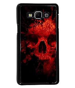 PRINTVISA Darna Mana Hai Premium Metallic Insert Back Case Cover for Samsung Galaxy A7 - A700F - D6002