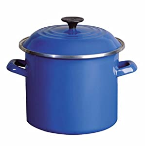Le Creuset 8-Quart Stockpot, Blue