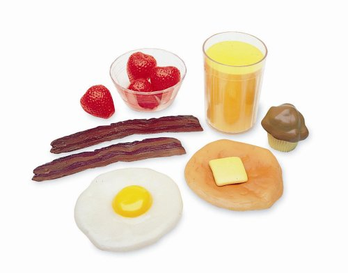 Cheap Learning Resources Breakfast Foods, Set of 16