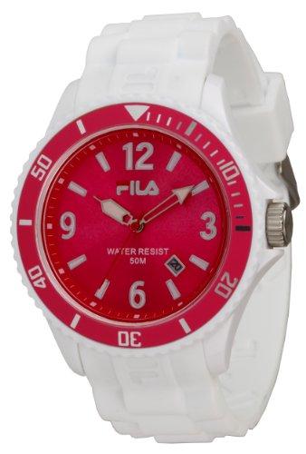 Fila FA-1023-49 - Reloj con correa de acero para hombre, color rosa / gris