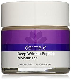 derma e Deep Wrinkle Peptide Moisturizer Crème, 2 Ounce