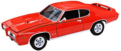 1969-pontiac-gto-orange-welly-auto-modell-124