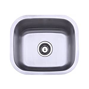 .com: Undermount Kitchen Sinks Bar Size Stainless Steel 18-inch Sink ...