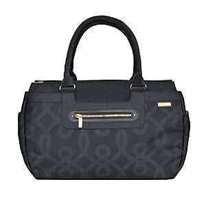 Amazon.com : Parker bolsa de pañales, Negro y Oro : Baby