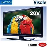 ユニテク 20V型 液晶テレビ Visole LCH2007V 外付けHDD録画対応