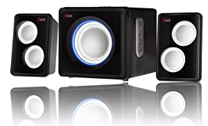 Sykik Bluetooth wireless speaker stereo sound system. Bluetooth wireless streaming from any Bluetooth mobile device. from SYKIK