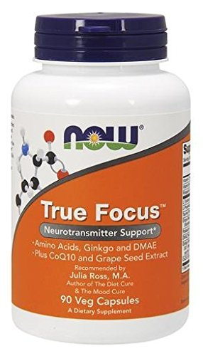 NOW Foods True Focus, 90 Vcaps (Now Energy Capsules compare prices)