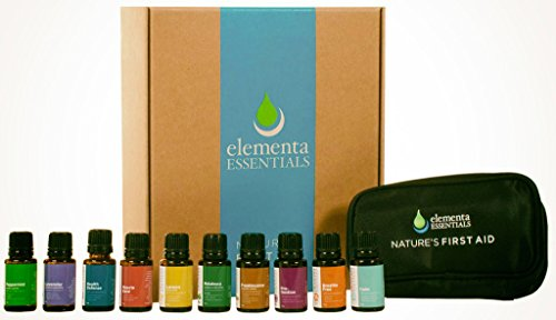 Nature's First Aid- Famliy Physician Kit 10-pack (Comparable to DoTerra& Young Living Products) 100% Organic Essential Oils - 15 ml