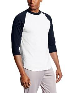 Buy MJ Soffe Mens 3 4 Sleeve Baseball Jersey by Soffe