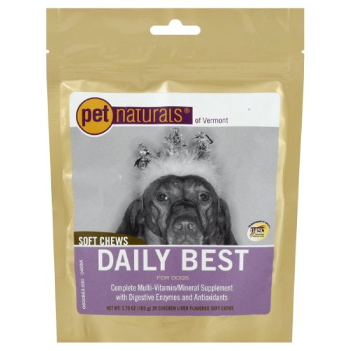 Pet Naturals Of Vermont Daily Best Dogs Soft Chew, 3-Count (Pack Of 3)