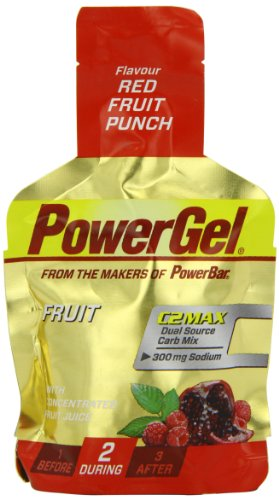 Power Bar Fruit Gel Red Fruit Punch 41g