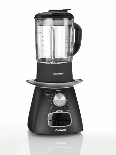 The Cuisinart SSB1U soup maker is efficient to use and makes delicious soups.