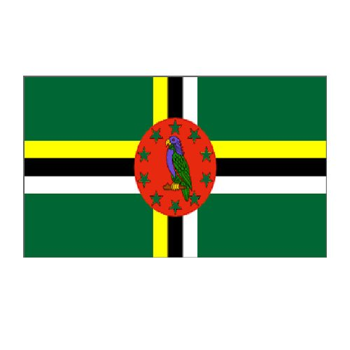 Dominica Flag 3ft x 5ft Nylon - Buy Dominica Flag 3ft x 5ft Nylon - Purchase Dominica Flag 3ft x 5ft Nylon (US Flag Store, Home & Garden,Categories,Patio Lawn & Garden,Outdoor Decor,Banners & Flags)