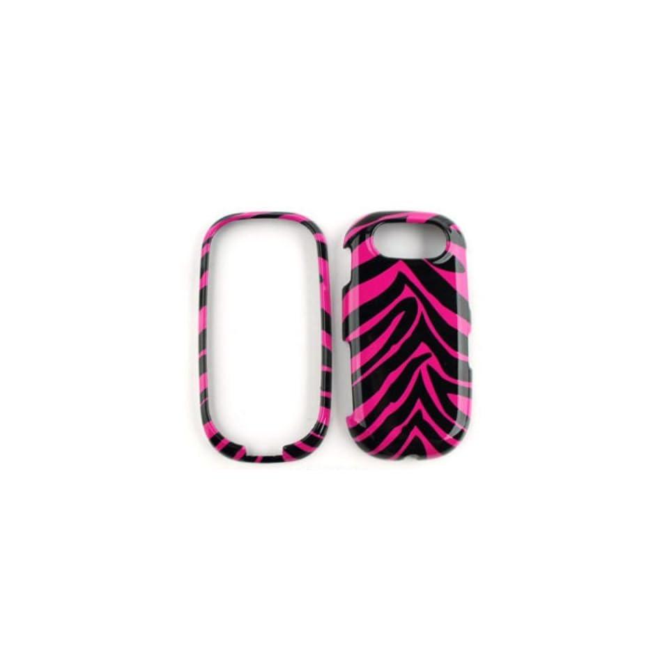 Pantech Ease P2020 Pink Zebra Skin Hard Case,Cover