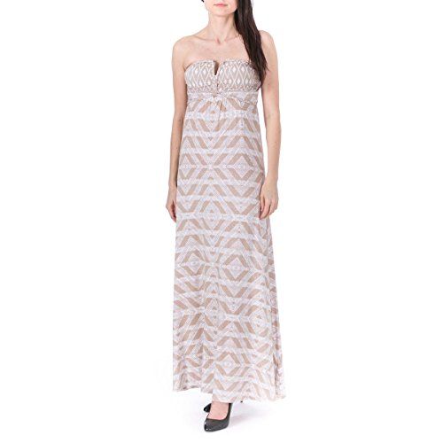 Guess Womens Juniors Jersey Braided Maxi Dress