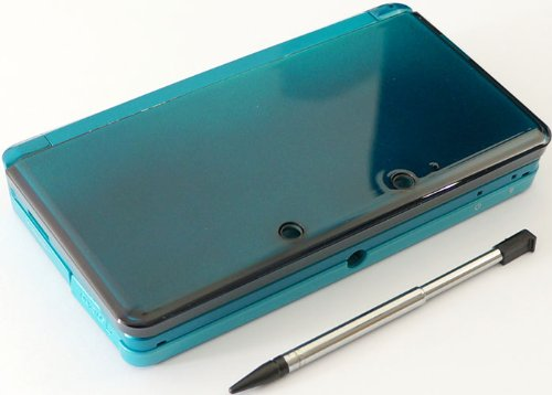 Aqua Blue Nintendo 3DS Complete Full Housing Shell Case Replacement Repair Fix