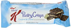Kellogg's Special K Pastry Crisp, Cookies and Creme, 4.4 Ounce