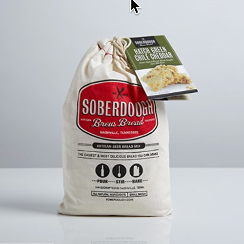 Soberdough Beer Bread Mixes - Various flavors (Green Chile Cheddar) (Soberdough Bread compare prices)