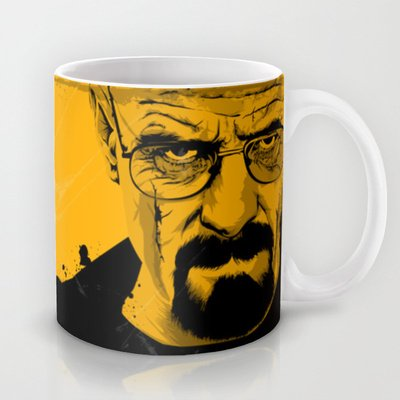 Society6 - Breaking Bad Coffee Mug By The Art Warriors
