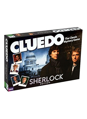 Cluedo Classic Mistero Gioco SHERLOCK Edition. Toy importato dal Regno Unito. [importato da UK]