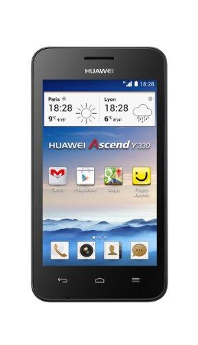 Huawei Ascend Y330 Smartphone, 4 GB, Nero