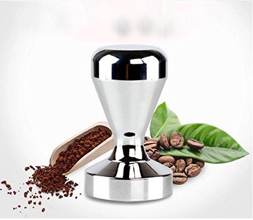 Tosnail Edelstahl Tamper Espressostampfer Kaffeemehlpresser 51mm Durchmesser