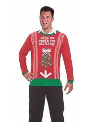 Christmas Under Mistletoe Adult Sweater