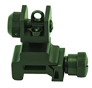 Swamp Fox Rear Rifle Sight for AR15 M16 and M4 Rifles, Black Matte