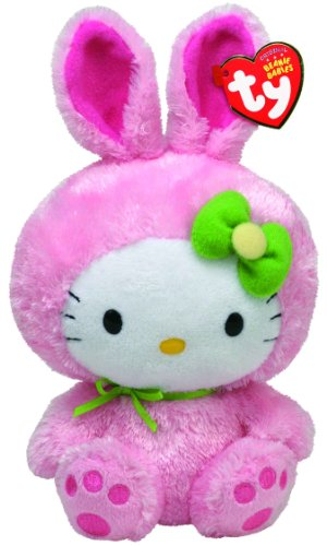 Ty Beanie Babies Hello Kitty Pink Bunny Suit