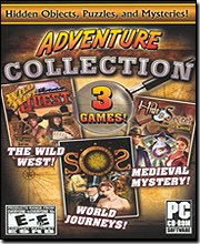 Adventure Collection (3 Games) Hidden Objects, Puzzles, & Mysteries! (Book Collection Software compare prices)
