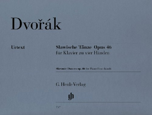 Dvorak: Slavonic Dances Op.46/ Henle Inc.