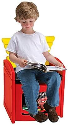 Disney's Cars 2 Piston Cup Sit N Store Chair from Jakks Pacific_Big Wheel