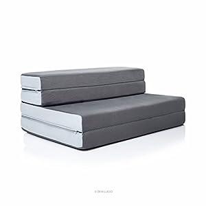 Amazon LUCID 4 Inch Folding Mattress Queen Size
