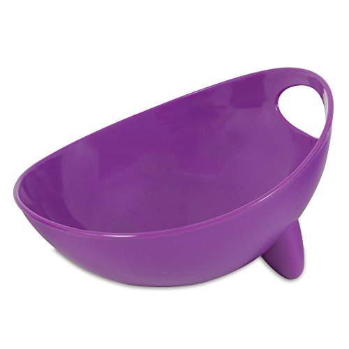Get The Scoop And Dish It Out: WETNoZ Studio Scoop Dog Dish, Medium, Lilac Animals Pet Supplies Pet Supplies Pet Food Scoops