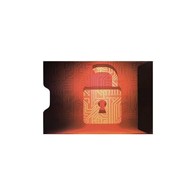 d83e5e608a Custodie protettive DreamTECH RFID con un design unico di 10 pcs. Carta  Premium/Carta di debito antifurto, protezione e ...