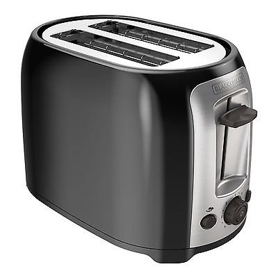 BLACK+DECKER TR1278B 2-Slice Toaster, Black (Toasted Oven Rack compare prices)