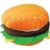 ハンバーガー クッション(1255) 30×18cm