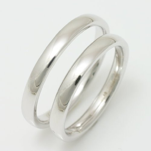 [ココカル] cococaru pairing characters put with silver wedding ring wedding ring set flat curved
