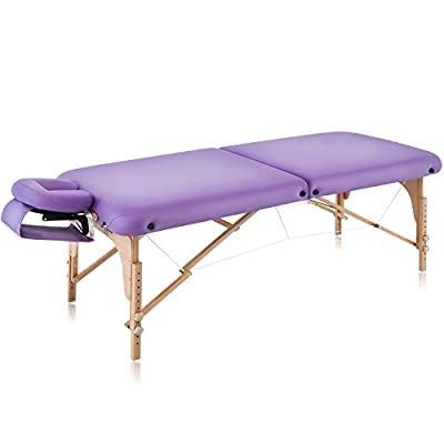 """Dr.lomilomi 30"""" Professional Portable Massage Table 001 Spa Bed with Carry Case and Cover Sheet Set"""