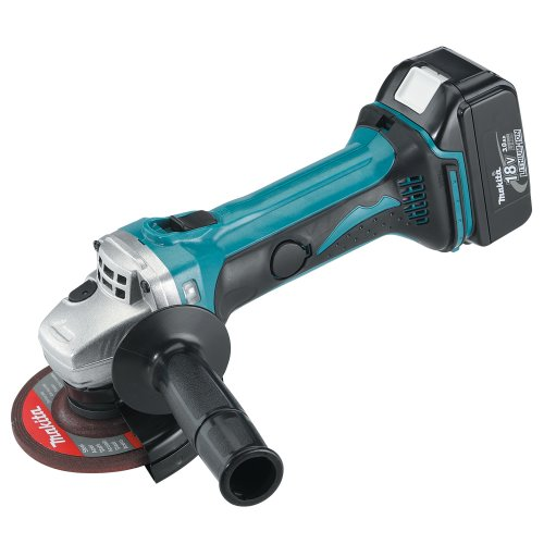 Makita BGA452 18-Volt LXT Lithium-Ion Cordless 4-1/2-Inch Cut-Off/Angle Grinder Kit