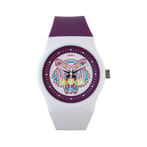 Kenzo Tiger Head Unisex White Watch 9600112