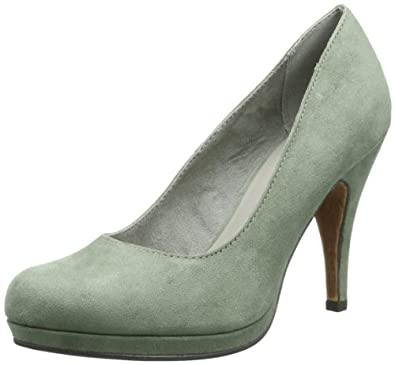 Tamaris TAMARIS 1-1-22407-22 Damen Pumps, Grün (EMERALD 707), EU 39