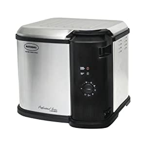 masterbuilt 23011014 indoor electric turkey fryer by Butterball