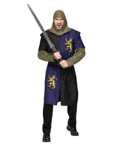 Adult-Costume Renaissance Knight Adult Costume Halloween Costume