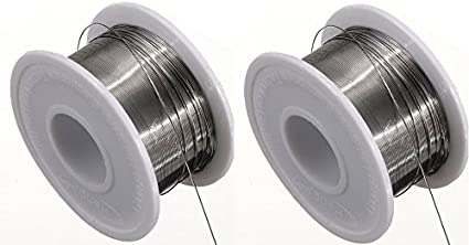 0.5Mm-Aluminium-Shelled-50Gm-(-Pack-Of-2-Pcs-)-Soldering-Wire-Roll-Only-From-M.P.Enterprises