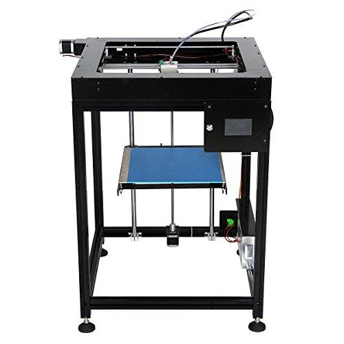 3DSWAY DIY Big Size 3D Printer XCR335 Kit B with Improvied E3D Chimera E3D Cyclops Hotend Kit 1KG PLA/ABS Filament
