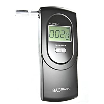 The new BACtrack Element quickly and easily tests for the presence of alcohol and provides a blood alcohol content (BAC) estimate. Simply press power, blow through one of the included mouthpieces, and get results in seconds. The Element uses professi...